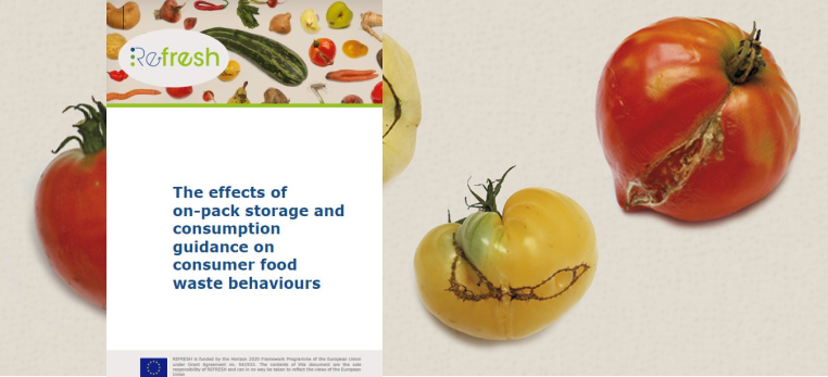 The effects of on-pack storage and consumption guidance on consumer food waste behaviours
