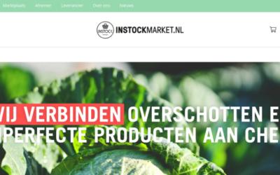 Online marktplaats InstockMarket.nl biedt oplossing tegen voedselverspilling