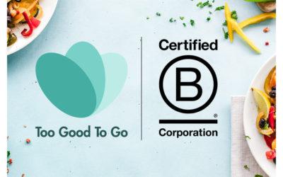 Too Good To Go ontvangt B Corp certificaat en kondigt uitbreiding naar Verenigde Staten aan