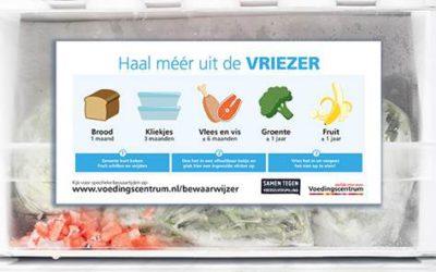 Voedingscentrum start campagne over voordelen van invriezen