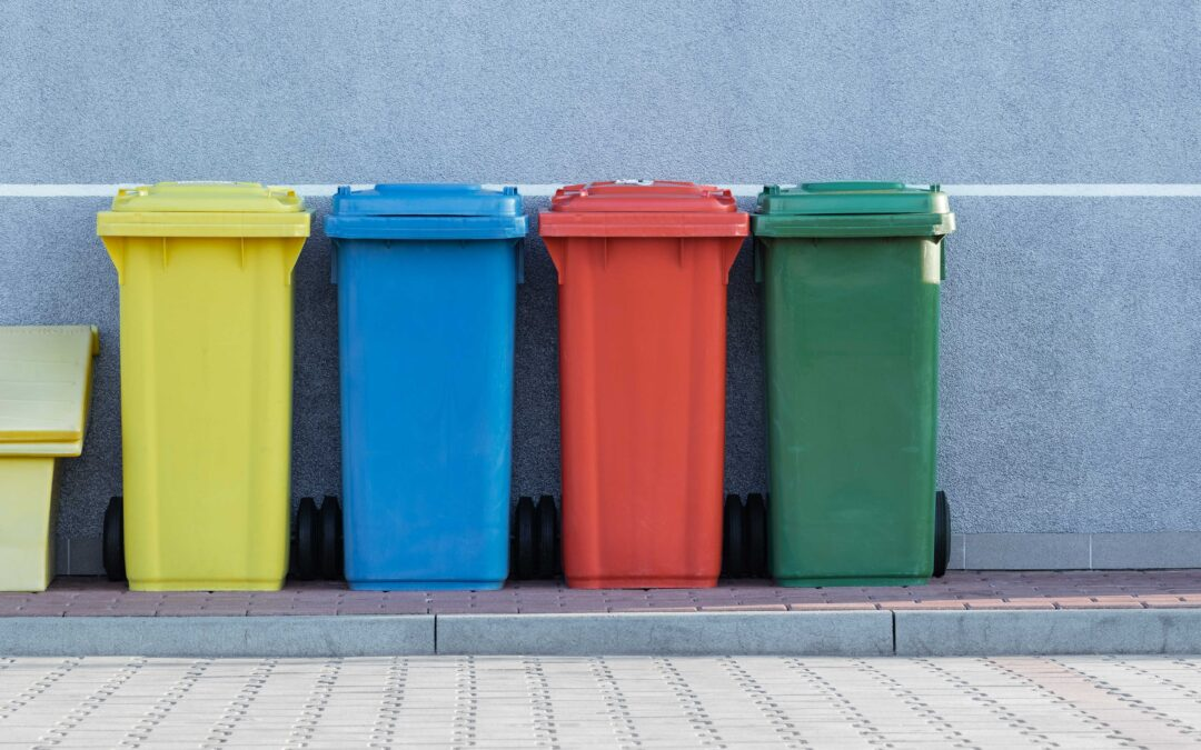 AI rubbish bin reduces food waste