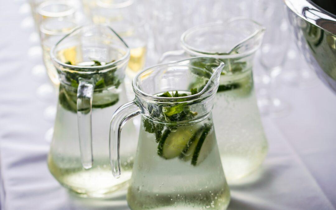 Zomerdrankjes redden overschot aan komkommers