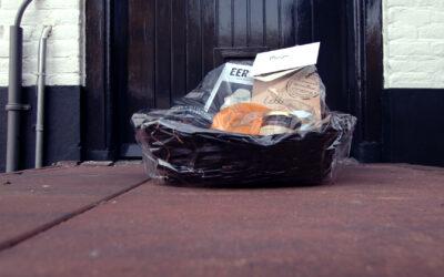 Voedselverspilling tegengaan met kerstpakketten